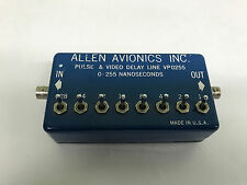 Allen Avionics VP 0255 Pulse & Video Delay Line