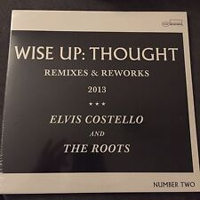 "ELVIS COSTELLO AND THE ROOTS 'WISE UP THOUGHT' 10"" VINYL LP BLUE NOTE BRAND NEW"