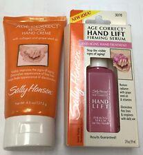 Sally Hansen  Age Correct Retinol Hand Creme  + free Sally Hansen Hand Serum