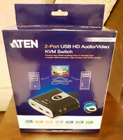 ATEN CS692 - 2-Port USB HDMI/Audio Cable KVM Switch with Remote Port Selector