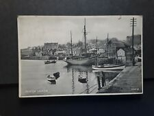 Cornwall postcard,PADSTOW Harbour, posted in 1934.
