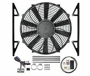 Revotec Electronic Cooling Fan Conversion Kit Austin Healey 3000 Negative Earth