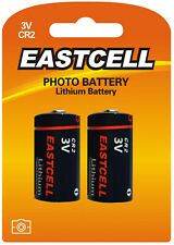 ☀️☀️☀️☀️☀️ 2 x CR2 Lithium Batterie ( 1 Blistercards a 2 Batterien) EASTCELL