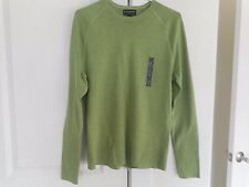 NWT Banana Republic Sweater S Small J Green Great w Jeans Crew Neck +