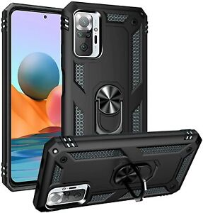 For Xiaomi Redmi Note 10 Pro Case Kickstand Shockproof Ring Cover