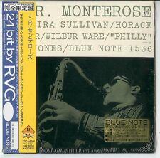 J.R.MONTEROSE Same CD Japan Cardsleeve CD 1998 Blue Note NEU/OVP