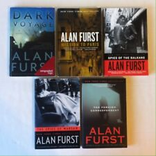 Lot 5 Alan Furst HC Hero of France Spies of the Balkans Warsaw, Blood of Victory