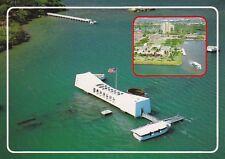 Postcard U.S.S. Arizona Memorial Pearl Harbor, Hawaii