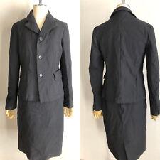 COMME DES GARCONS BLACK Japanese designer modern Jacket skirt suits AD2003