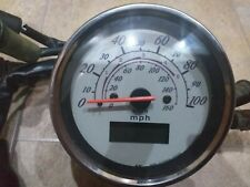 Honda Shadow VT 125 Speedo Velocímetro Relojes sólo 27414 millas.