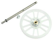 Microheli Blade 200 S / 200 SR X Silver Auto Hub W/ Shaft & Main Gear MH-2SRX067
