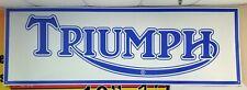 Triumph Motorcycle Dealer logo Banner Sign Flag T100 TR6 Rocket Triple R v1