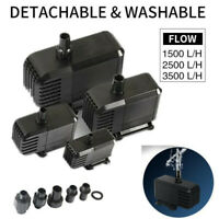 High-lift Flow Submersible Water Pump for Aquarium Fish Tank Water Feature Pond