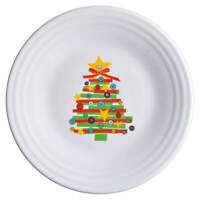 Homer Laughlin FIESTA CHRISTMAS CRAFT Luncheon Plate 11550206
