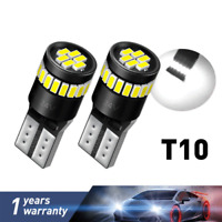 T10 CAR BULBS LED ERROR FREE CANBUS XENON WHITE W5W 501 SIDE LIGHTS BULB 12V-24V