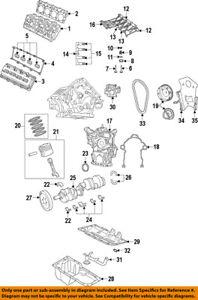 CHRYSLER OEM-Engine Valve Cover 53022085AD