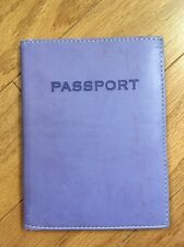 Passport Holder /wallet /Organizer ! Purple/green Swing Made In Thailand !