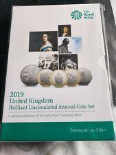 More details for 2019 uk 13 coin anual b/u set. sealed/mint