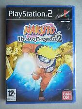 Naruto Uzumaki Chronicles 2 Jeu Vidéo PS2 Playstation 2