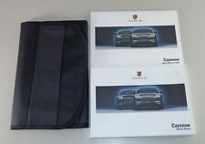 Owner's Manual / Handbook and wallet Porsche Cayenne 9PA Stand 02/2005