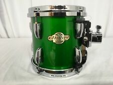 """Pearl Masters MCX 8"""" X 8"""" Mounted Tom/SHAMROCK GREEN/#388/Maple Shell/NEW"""