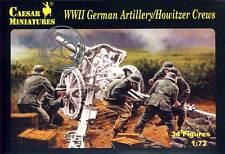 Caesar Miniatures 1/72 Ww2 German Artillerie / Howitzer Équipages
