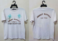 Vintage 1981 Jimmy Buffett Coconut Telegraph Concert Tour T-Shirt Great Reprint