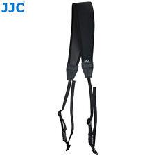 JJC NS-CBK BLACK Soft Safety Neoprene Neck Strap for universal DSLR Camera