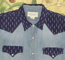 Mens Polo RALPH LAUREN Denim & Supply Longsleeve Chambray Pearl Snap Shirt XL