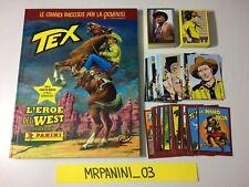 TEX Panini 2015 - ALBUM CARTONATO + Set Completo Figurine-stickers + Set Cards