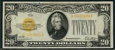 Fr2402 $20 1928 Series Gold Certificate - Au - Woods / Mellon Bt7692