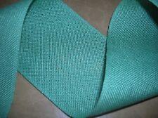 Band aus Leinen,  auch zum Sticken, hellgrün, 7 cm breit,  1,5 m lang