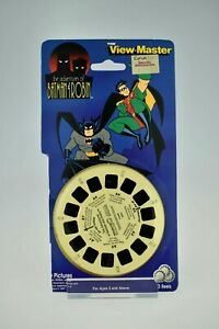 Vintage View-Master Carded Reels - Adventures Of Batman And Robin 1088