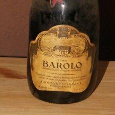 GIOVANNI SCANAVINO limitata 5000 bottiglie vino BAROLO anno 1964 buono stato