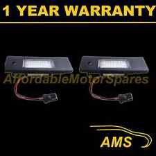 2X FOR BMW 1 SERIES E81 E87 Mini R55 2004-2007 24 WHITE LED NUMBER PLATE LAMP