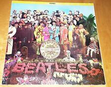 Beatles Sgt. Pepper's Lonely Hearts Club Band Stereo-CANADA-EMI-Capitol MARBLE