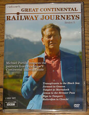 GREAT CONTINENTAL RAILWAY JOURNEYS SERIES 5 FIVE FIFTH R2 DVD IMMEDIATE DISPATCH