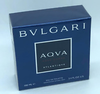 100ml Bvlgari Aqva Atlantique Eau de Toilette Men Perfume hombre 3.3 oz