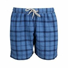 NWT! $79 BARBOUR MENS JOHN SHORTS SWIM SUIT TRUNKS BLUE MEDIUM