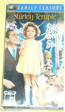 Baby Takes A Bow Classic Shirley Temple VHS Tape Nice See!