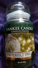 Yankee candle large jar THE PERFECT TREE.