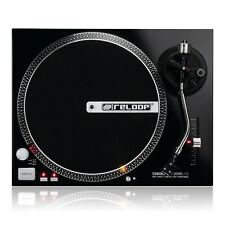 Reloop RP2000 USB Turntable Record Player With OM Black Cartridge