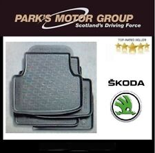 Genuine New Skoda Octavia 2013> Rubber Mat Set - 5E2061550