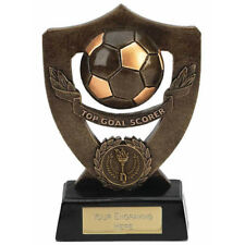 FOOTBALL SOCCER TOP GOAL SCORER TROPHY ENGRAVED FREE SQUAD TEAM AWARD TROPHIES