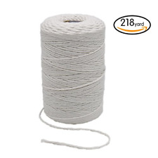 200M Durable Baker's Twine Heavy Duty Cotton Twine Safe Cooking String for Tying
