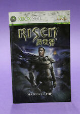 INSTRUCTION BOOKLET/MANUAL ONLY FOR RISEN XBOX 360 (NO GAME) 🔥OZ SELLER🔥 !!!