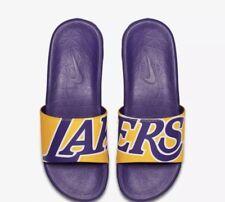 NIKE BENASSI SOLARSOFT NBA Diapositives/chaussons LA Lakers UK9 EUR44 US10 917551 700