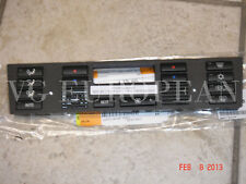 BMW E39 5-Series E53 X5 Genuine Climate Control Panel Bottons,Cap Set AC Heater
