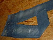 moderne Stretchjeans/Jeans v.BLEND Gr.W31/L34 blau used Knopfleiste
