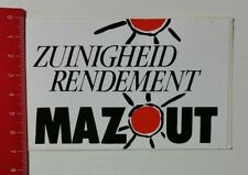 Aufkleber/Sticker: Zuinigheid Rendement - Mazout (23021798)